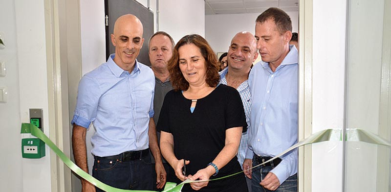 Opening of center in Yafia