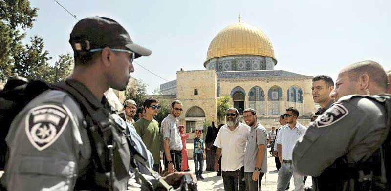 Temple Mount  photo: Reuters