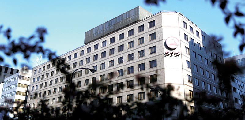 Takeda headquarters in Japan
