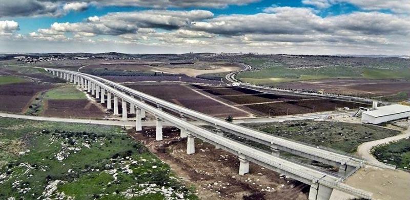 Jerusalem rail link