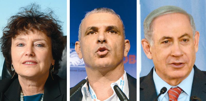Netanyahu, Kahlon, Flug   Kobi Gidon, Eyal Yitzhar
