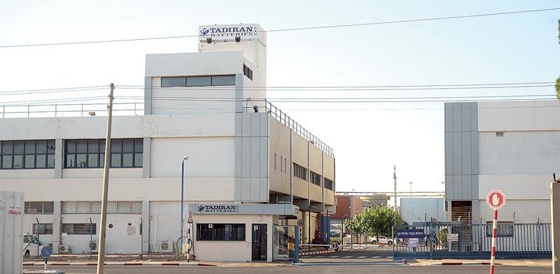 מפעל הסוללות הישן בקרית עקרון - תדיראן / צילום: איל יצהר
