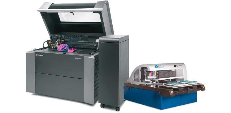 מדפסות של קרנית דיגיטל ושל סטרטסיס / צילום: יחצ