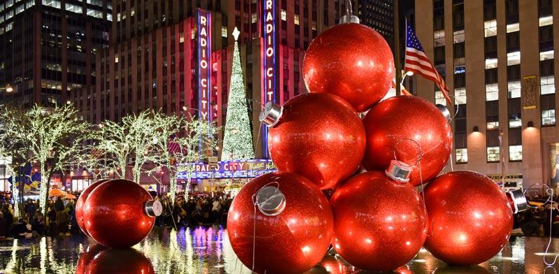 קישוטי חג מולד ברוקפלר סנטר / וצילום:  Shutterstock/ א.ס.א.פ קרייטיב