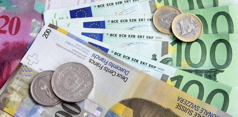 Swiss francs Photo: Shutterstock
