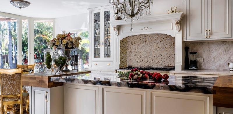 ניחוח קלאסי במטבח מרהיב / צילום: זליצ'ונוק טניה