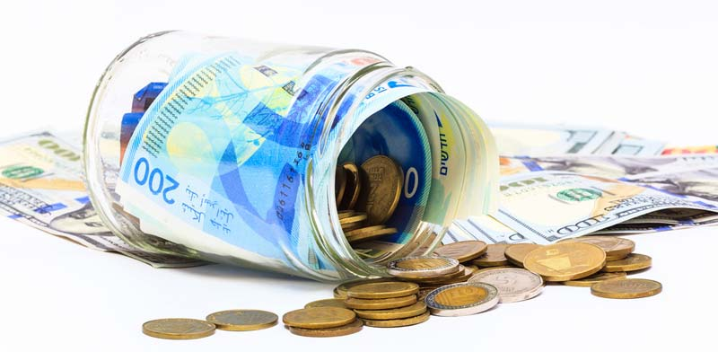 Shekels Photo: Shutterstock