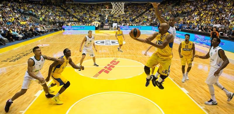 DHL נותנת חסות למכבי תל אביב / צילום:יחצ