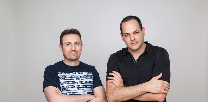 Eyal Ronen and Itai Hirsch Photo: PR
