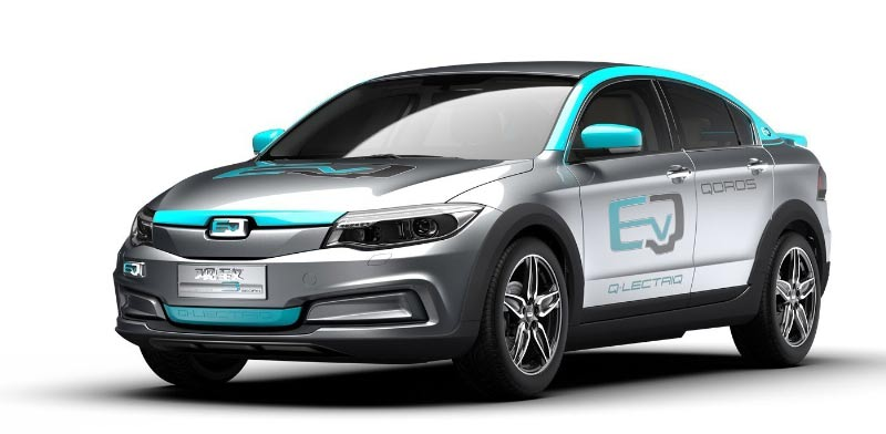 Qoros electric car  photo: PR