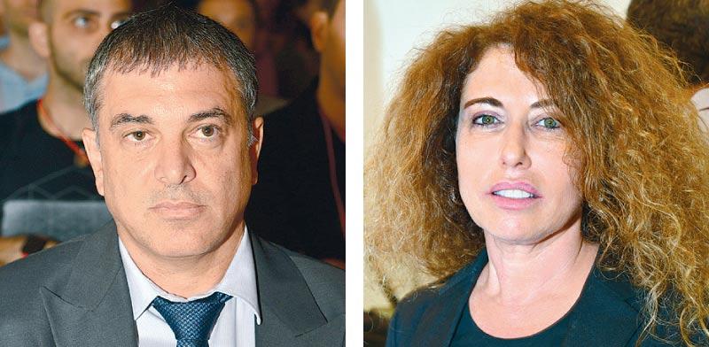 סטלה הנדלר ושלמה פילבר  / צילום:תמר מצפי