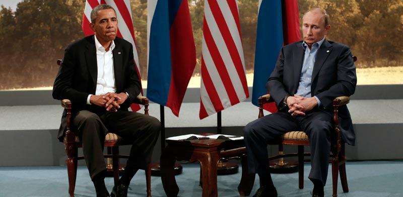 הנשיא פוטין והנשיא אובמה / צילום: רויטרס