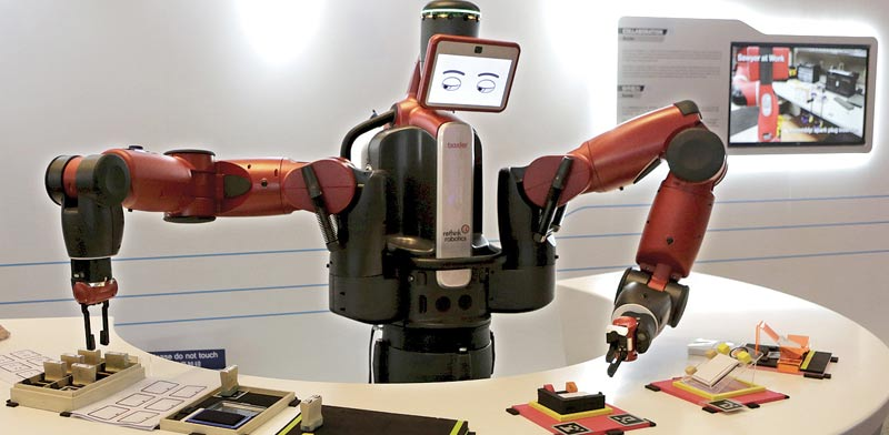 Robots Photo: Reuters