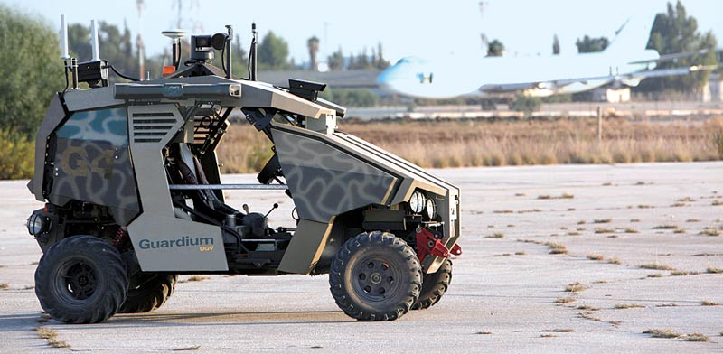 Globes English Israel S Defense Ministry Scraps Robot