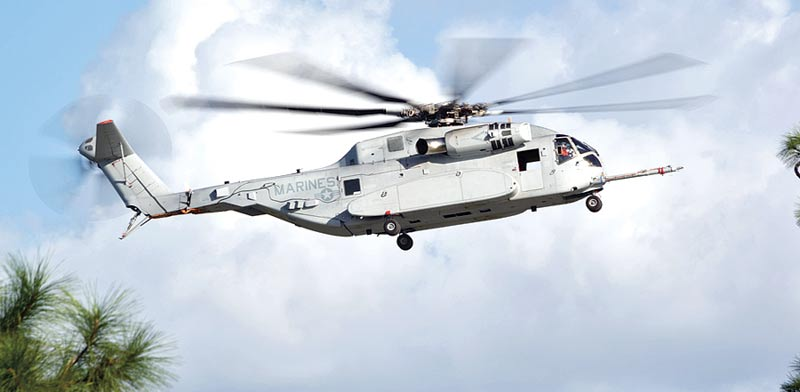 CH 53 Yasour helicopter Photo: Lockheed Martin