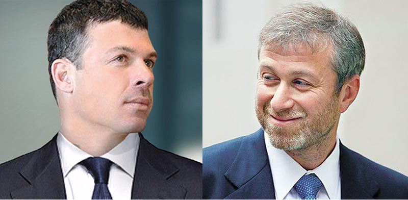 Oded Kobo, Roman Abramovich Photo: company website