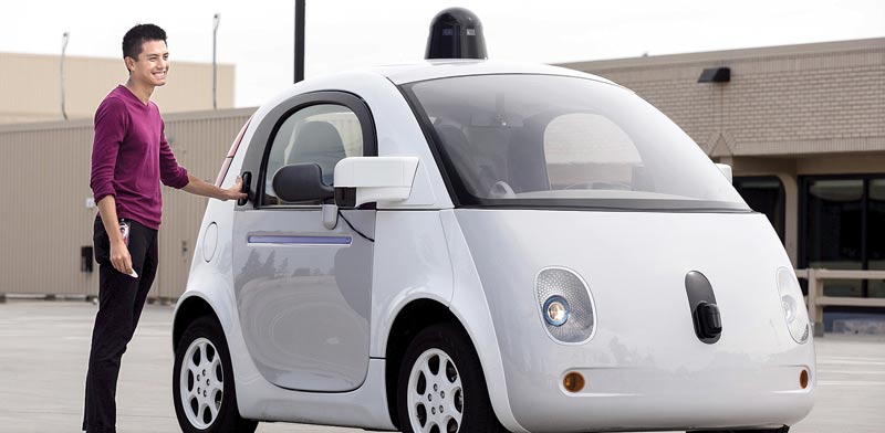 Google car Photo: Reuters