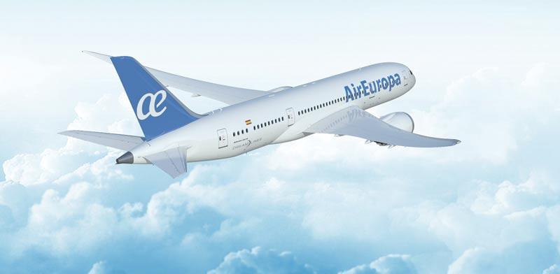 מטוס אייר אירופה / צילום: יחצ