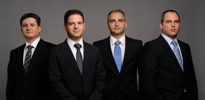 Eyal Friendman, Manor Gindi, Kfir Gindi, Ori Levy
