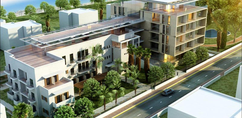 חיפה הלבנה: מתחם דיור מוגן יוקרתי במרכז הכרמל