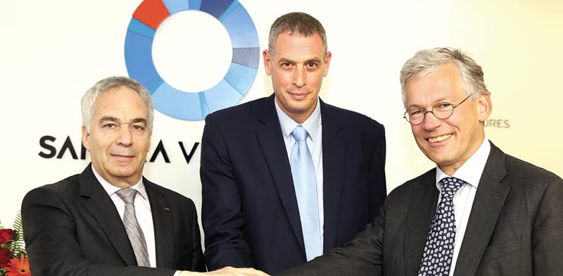 Erez Vigodman, Assaf Barnea, and Frans van Houten