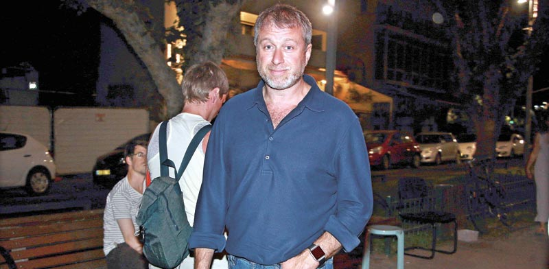 Roman Abramovich in Tel Aviv Photo: Amir Meiri