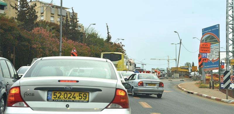 Traffic Photo: Tamar Matsafi
