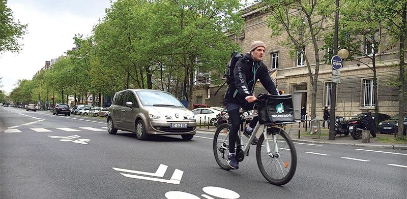 רחוב בפריז / צילום: מירב מורן
