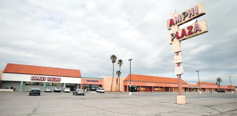 """מרכז מסחרי בארה""""ב. / צילום: מירב מורן"""