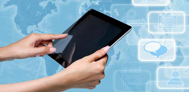 פרסום דיגיטלי אייפד טכנולוגיה / צילום: shutterstock