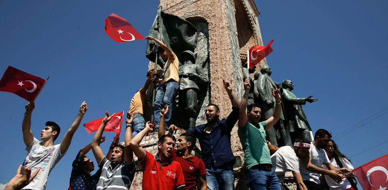 Turkey's failed coup Photo: Reuters