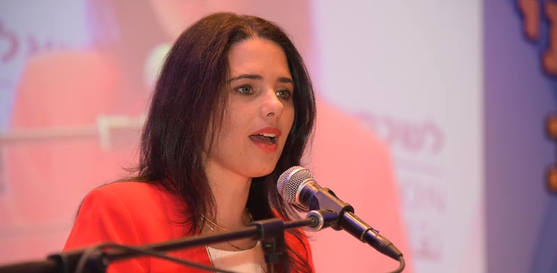 Ayelet Shaked  photo: Eran Dolev