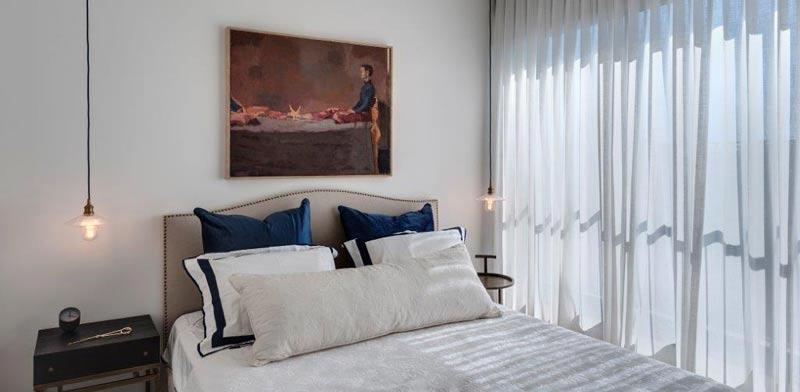 חדר השינה / צילום: עודד סמדר