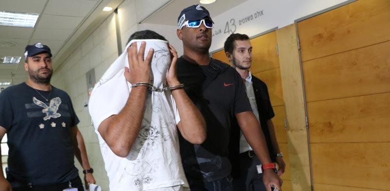 Bank extortion suspect Photo: Amir Meiri