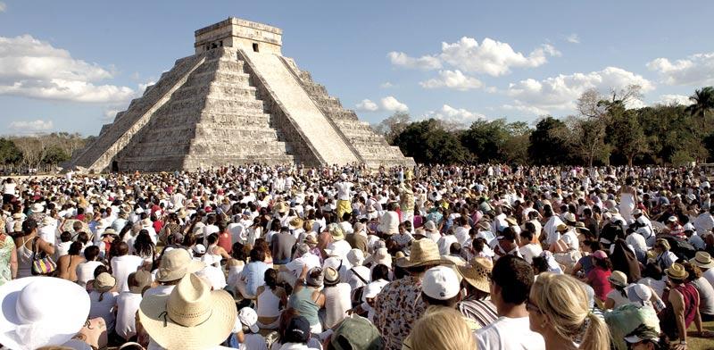 הפירמידה הגדולה של בני המאיה / צילום: רויטרס
