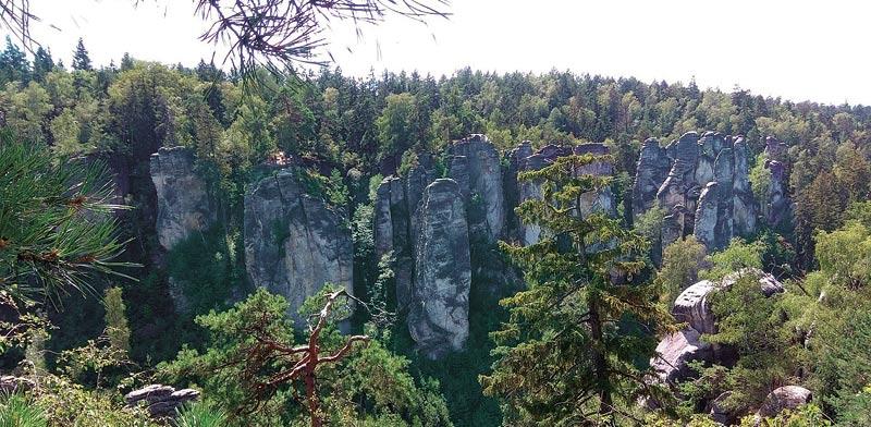 צ'כיה סלעי פרחוב, מבוך מרשים ומרתק של סלעים / צילומים: שלומי יוסף