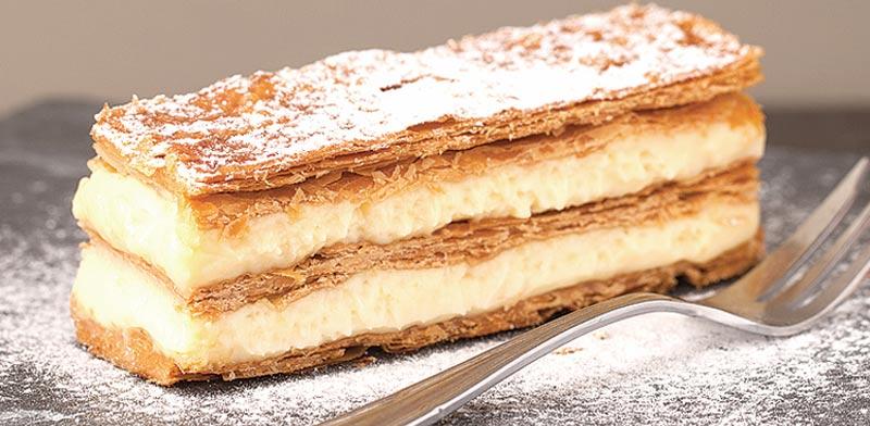 עוגת גבינה ופיסטוק / צילום: מיכל רביבו