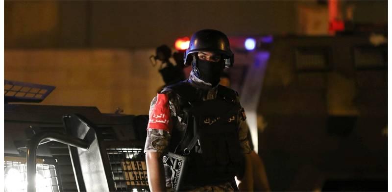 Jordanian policeman