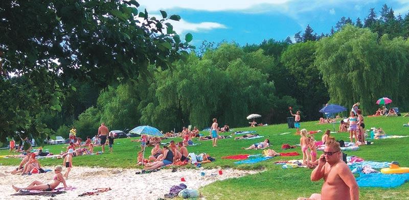 צ'כיה  אגם באזור מורביה / צילומים: שלומי יוסף