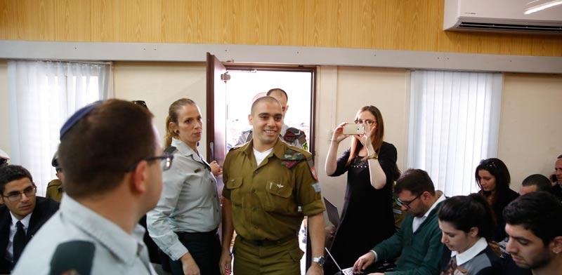 """גזר הדין של אלאור אזריה: בית הדין הצבאי שלח את """"החייל היורה"""" לשנה וחצי מאסר בפועל"""