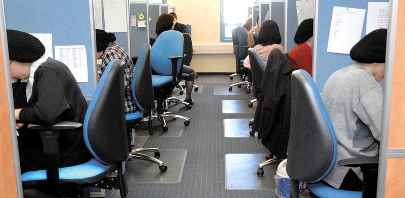 נשים חרדיות מועסקות בהיי־טק/ צילום: תמר מצפי
