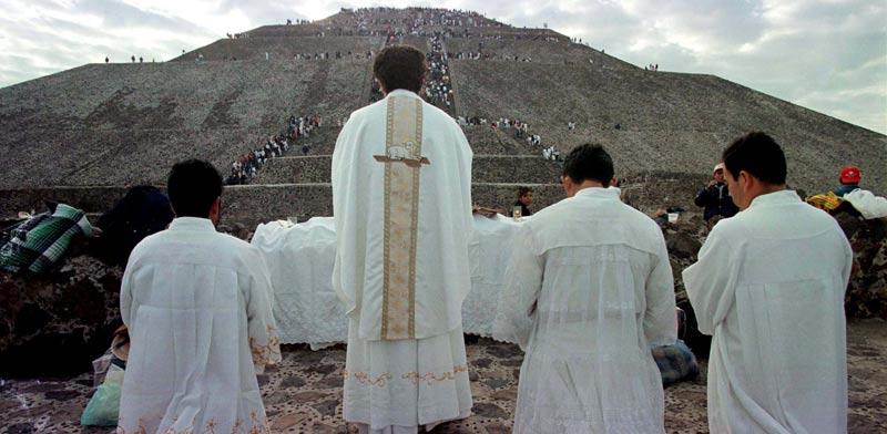צאצאי בני המאיה / צילום: רויטרס