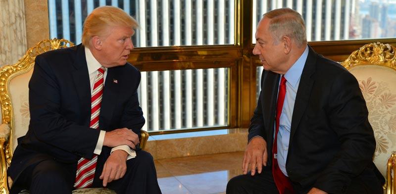Benjamin Netanyahu, Donald Trump  photo: Reuters