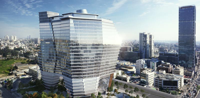 New Tel Aviv office tower Photo: Viewpoint