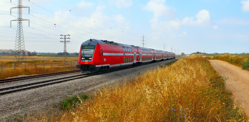 Israel Railways Photo: Shutterstock ASAP Creative