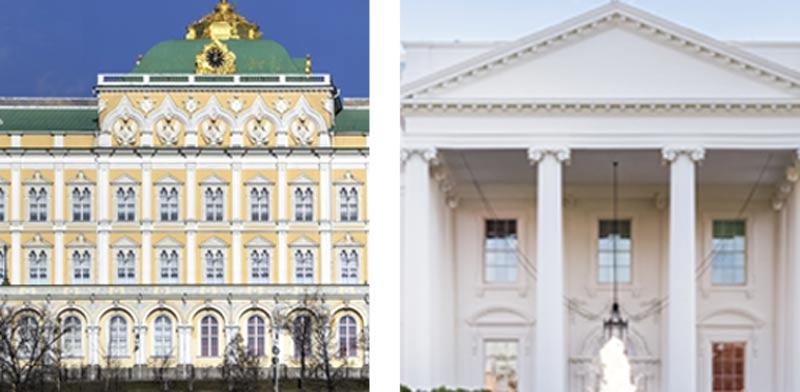 הבית הלבן והקרמלין /  צילומים: Shutterstock | א.ס.א.פ קריאייטיב