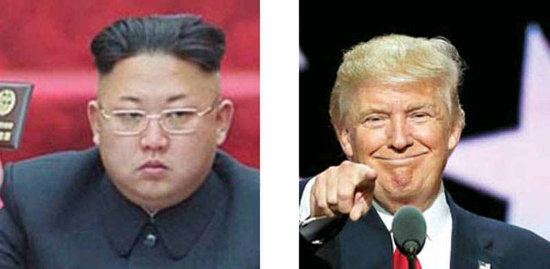 דונלד טראמפ וקים ג'ונג און / צילומים: רויטרס