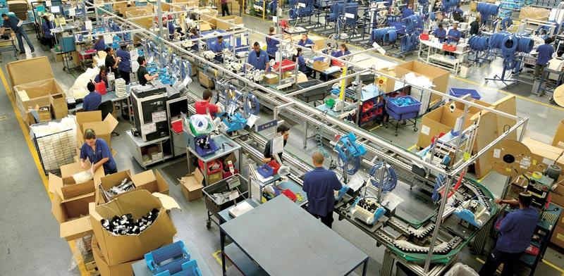 Maytronics factory Photo: Eyal Izhar