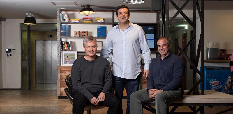 Ilan Shiloah, Yonatan Ben Artzi, Nir Serlovsky Photo: PR