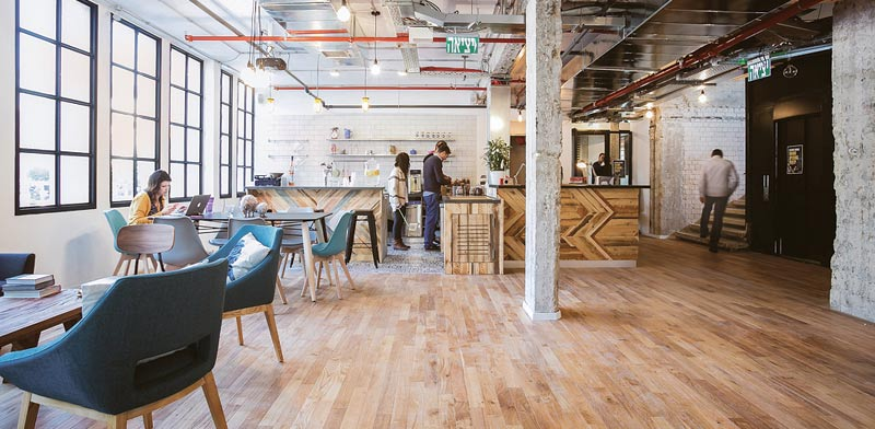 WeWork offices Photo: Shiran Carmel